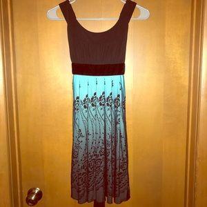 Classy Blue/Black Dress